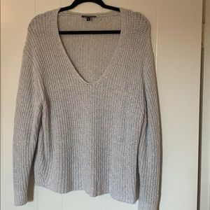 Express knit oversized sweater